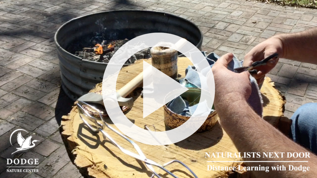Watch Dodge Naturalist Mick Garrett share the historical secrets to fire making without matches.